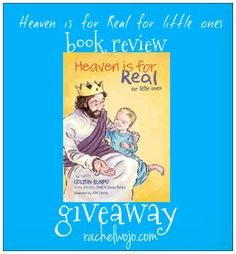 Heaven is for Real for little ones Book Review & Giveaway- This book is the newest in the Heaven Is For Real lineup. Heaven Is For Real is the #1 best selling trade book and children's picture book and our family absolutely loves both.