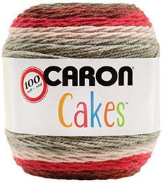 Caron Cakes Yarn - These are free crochet patterns which show off the yarn's self-striping capability beautifully - shawls, scarfs, sweaters, bags, etc. Thread Crochet, Crochet Yarn, Knitting Yarn, Free Crochet, Knitting Patterns, Crochet Patterns, Crochet Blankets, Crotchet, Crochet Ideas