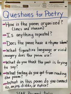 Why use poetry workshop? It's a change of pace. It will reach unexpected students. It's a great way to teach literary elements on a smaller scale. It gets all students to appreciate words and how words can evoke images. Poetry removes the need for perf Middle School Ela, Middle School English, Middle School Classroom, English Classroom, 6th Grade English, Gcse English, Ela Classroom, English English, English Teachers