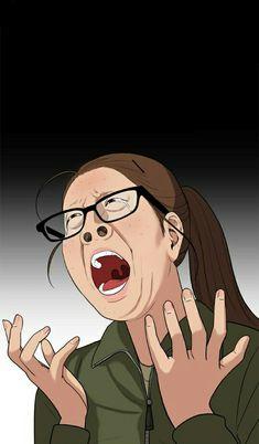 Ideas Funny Face Illustration Animation For 2019 Cartoon Jokes, Cartoon Art, Cute Cartoon, Anime Meme Face, Reaction Face, Memes Funny Faces, Funny Humor, Face Illustration, Webtoon Comics