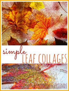 15 Fall Leaf Crafts for Kids - Imperfect Homemaker