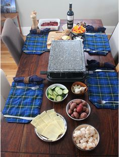 Gather your friends and get ready to be the hostess with the mostest. Not only is a raclette dinner party fun, but it's healthy. You'll get everyone hooked.