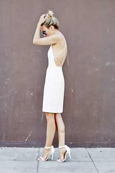 backless white
