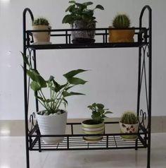 Perfect NEW Plant Stand Shelf 2 Tier Flower Pots Planter Garden Shelves Rack Patio  Decoru2026