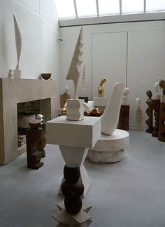 Maiyet Pre-Fall 13 Inspiration   The work of sculptor Constantin Brâncuși