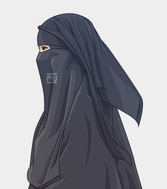 hijab v burka - Hijab Arab Girls Hijab, Muslim Girls, Muslim Women, Hijabi Girl, Girl Hijab, Muslim Pictures, Wallpaper Hp, Cartoon Wallpaper, Hijab Drawing
