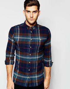 Blend Shirt Slim Fit Buttondown Check