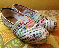 these look wicked awesome! wonder how well it would work on vans/deck shoes? Selvage Shoes: Tutorial