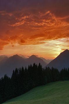 Sunset South Tyrol, Seiser Alm