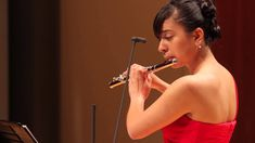 Vanessa Varela, flute, performs Brubeck's Take Five in the Gildenhorn Recital Hall at the University of Maryland, College Park, MD on May 9, 2013. http://www...
