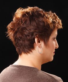 Back+of+Head+Short+Hair   Casual Short Wavy Hairstyle - - 9785   TheHairStyler.com