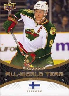 A large assortment the Upper Deck hockey cards for sale Wild North, Hockey Boards, Minnesota Wild, Upper Deck, Nhl, Captain America, Passion, Baseball Cards, Superhero