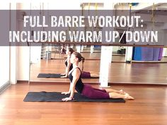 Barre Workout Video - FREE 30 MINUTE Barre Workout Video At Home