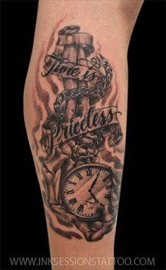 Pocket Watch Tattoo.