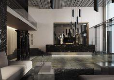 Дизайн проект ресторана на крыше 11 mirrors
