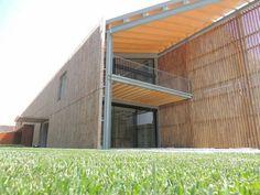 Studio d'architettura MA. DE.  Abbiamo realizzato la nuova #cantina Pizzolato a Villorba di #Treviso  #architettura #design #strutture