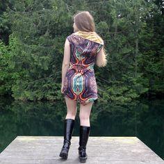 Kaleidoscope Dress - Boho Dress - Hippie Dress - Festival Dress - Short Dress - Mini Dress - Gypsy Dress - Tank Dress - Womens Dres by IntergalacticApparel on Etsy https://www.etsy.com/listing/519448784/kaleidoscope-dress-boho-dress-hippie