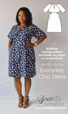 Love this sewing pattern! So flattering - I'm going to make it 100 times over!