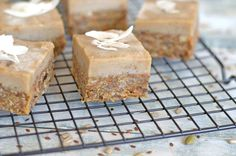 No-Bake Carrot Cake Protein Slice