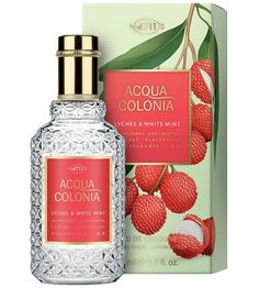 Acqua Colonia Lychee & White Mint Unisex fragrance by 4711 Buy Perfume Online, Perfume Store, Perfume Bottles, Fragrance Outlet, Perfume Body Spray, Cheap Perfume, Discount Perfume, Perfume And Cologne, Cosmetics & Perfume