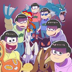 Ichimatsu, Memes, Anime, Fandoms, Fan Art, Couple, My Love, Something New, Minions I Swear