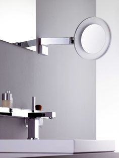 Scheer- en cosmeticaspiegel // emco Magnifying Mirror, Wall Lights, Bath, Lighting, Home Decor, Mirrors, Appliques, Bathing, Decoration Home