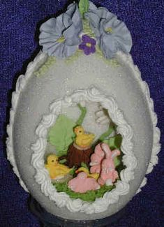 Sugar eggs... remember these at Easter time?