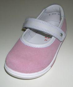 Elefanten Children's Girl's Low shoe Ballerina Slippers 1 400 058 rosa Leather M