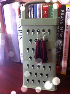 Oxblood Tassel Earrings by ShortPresents on Etsy, $12.50