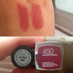Maybelline's Mauve Mania is a pretty great dupe for MAC's Syrup