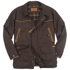 Schnee's Red Lodge Drifter.  Made from 100% cotton drywax canvas.  $269