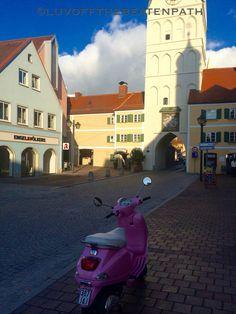So cute Erding, Germany! Photo taken by us!