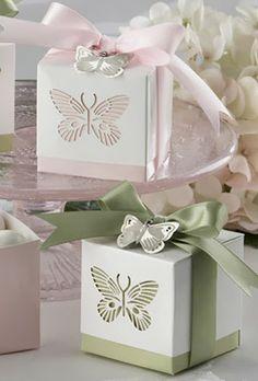 Butterfly Wedding Theme | Wedding Favors. http://simpleweddingstuff.blogspot.com/2014/02/butterfly-wedding-theme.html