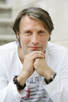 Mads Mikkelsen - Danish actor - aw obsessed with his face, male actor, celeb, hands, fingers, powerful face, cute, hot, sexy, intense eyes, portrait, photo