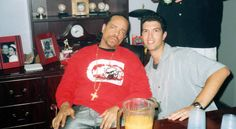 Hangin' with Ice T for a show we booked and promoted in Tampa early 2000's