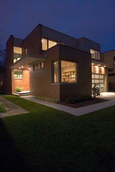 Fassadenfarbe modern  Beispiele für Fassadenfarben | Fassadenfarbe, Innovativ und ...