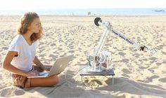 3D Printing Hits the Beach