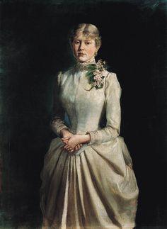 Portrait of the Artist's Wife, Wojciech Kossak, 1884