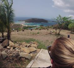 One of the amazing views seen on the Majohnny hike on Jost Van Dyke!