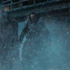 Wun Wun the Giant Wilding at Castle Black, Game of Thrones Season 6