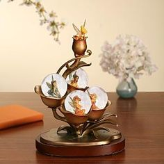 I found 'Disney Tinkerbell Fairies Golden Tink Snowglobe' on Wish, check it out! Tinkerbell And Friends, Peter Pan And Tinkerbell, Tinkerbell Fairies, Disney Fairies, Water Globes, Snow Globes, Disney Mickey, Disney Art, Disney Stuff