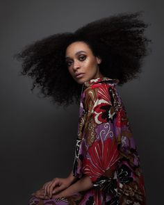 Afro Beauty Brought to Life in Photographer Luke Nugent's Lavish Hair Portraiture   Colossal