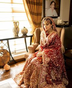 told us she loved this photograph because it made her feel as if her Dadi ama is looking down on her from heaven! Pakistani Wedding Outfits, Indian Bridal Outfits, Pakistani Wedding Dresses, Punjabi Wedding, Nikkah Dress, Bridal Lehenga Collection, Bridal Dress Design, Wedding Dresses For Girls, Salwar Kameez