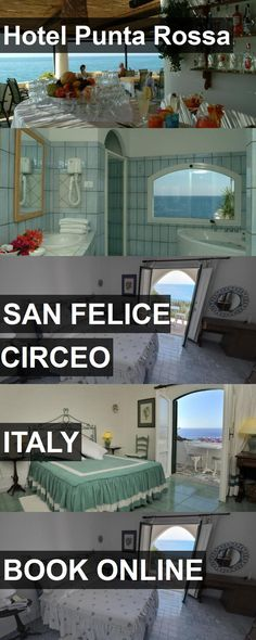 Hotel Hotel Punta Rossa in San Felice Circeo, Italy. For more information, photos, reviews and best prices please follow the link. #Italy #SanFeliceCirceo #HotelPuntaRossa #hotel #travel #vacation