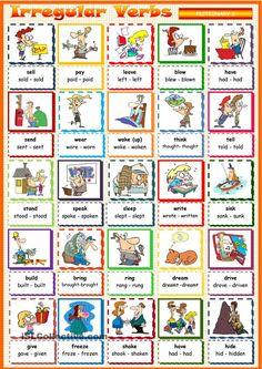 Картинки по запросу irregular verbs