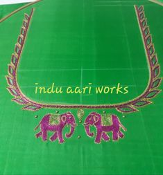 Aari Work Blouse, Embroidery Designs, Stitching Patterns