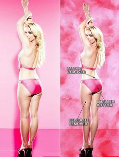 60 Photoshop before and after comps...Don't believe everything you see