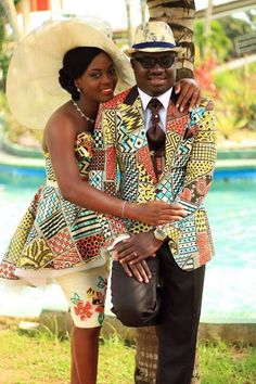 The Best Family Ankara Styles Mix Looking for the best ankara outfit that will be ok for your family? worry no more because we here at ANKARA XCLUSIVE gathered some lovely family collections of ankara styles. Couples African Outfits, African Dresses For Women, African Print Dresses, Couple Outfits, African Attire, African Wear, African Women, African Prints, African Style