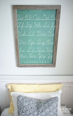 Easy kids' wall art