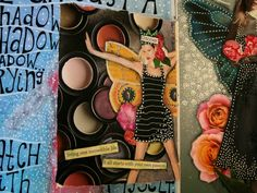 honest heART studio: discover - a collage journal page
